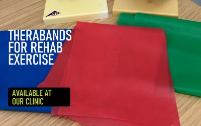 Therabands for rehab
